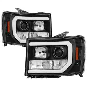 Light Bar DRL LED Projector Headlights